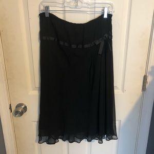 NWT sunny leigh vintage dreams black skirt
